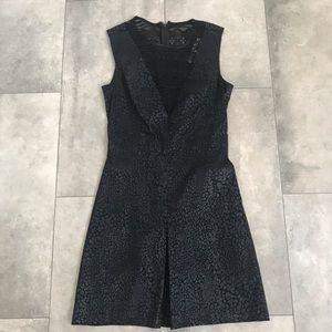 RACHEL Rachel Roy Black leopard lace dress!